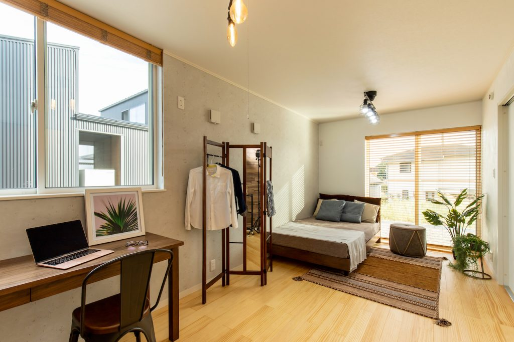 1F BEDROOM 広々とくつろげる、安らぎの空間