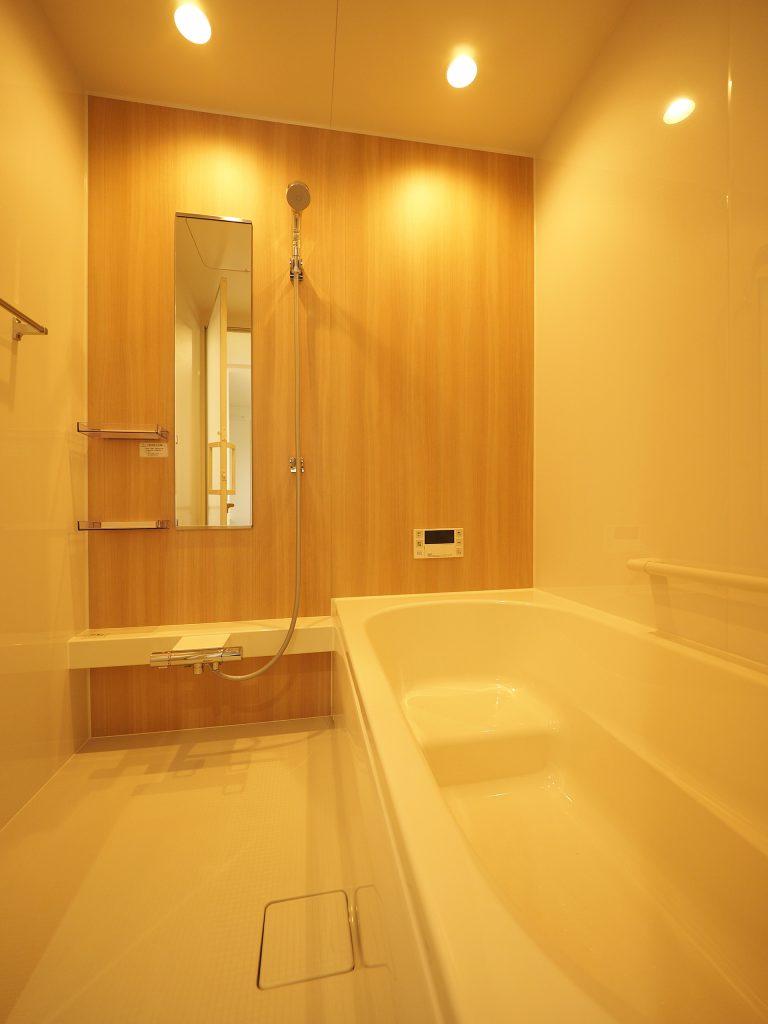 滝川の家 バスルーム