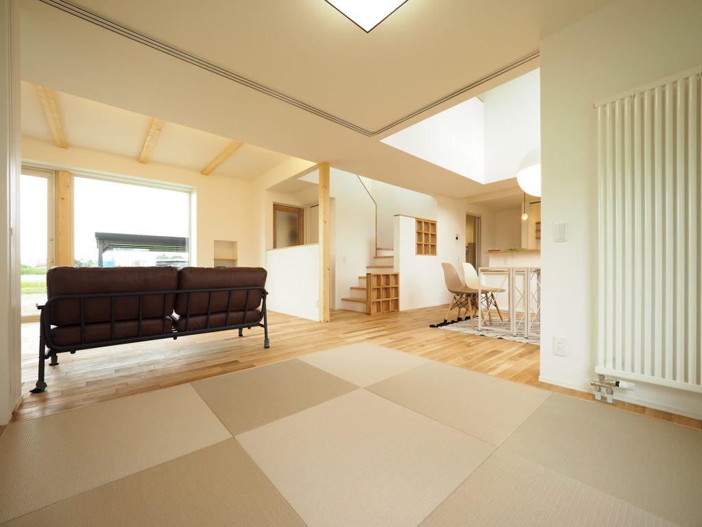滝川の家 和室