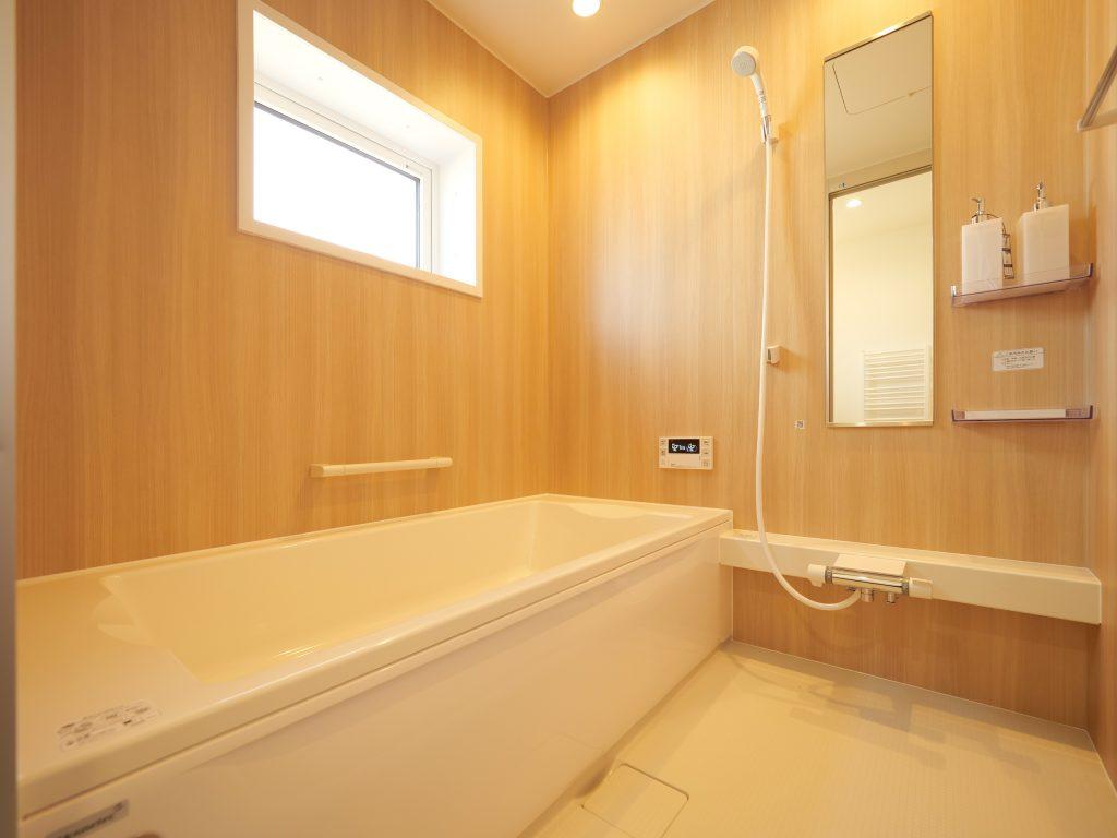 江別の家 お風呂