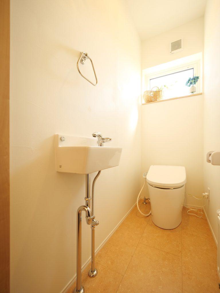 江別の家 トイレ