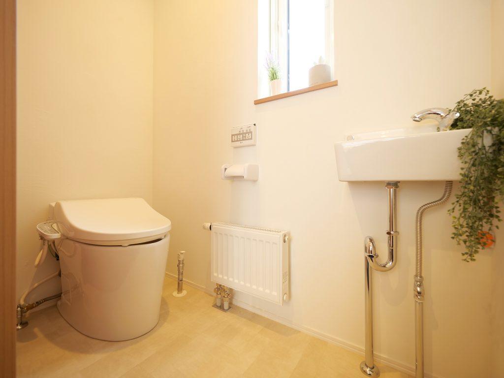 滝川の家 トイレ