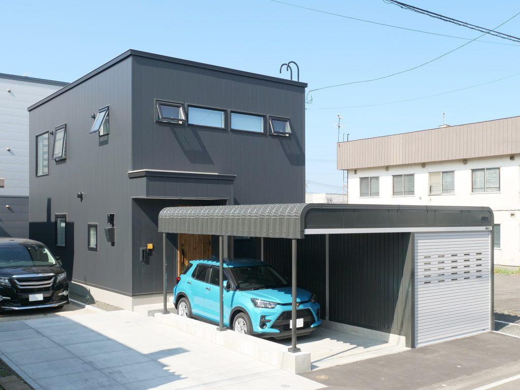 江別 共働き夫婦の家