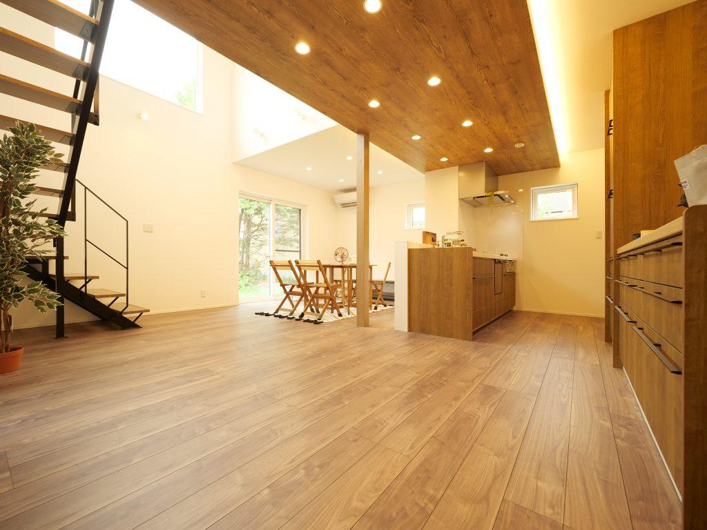 砂川 ランドリールームやパントリーで家事のしやすい家